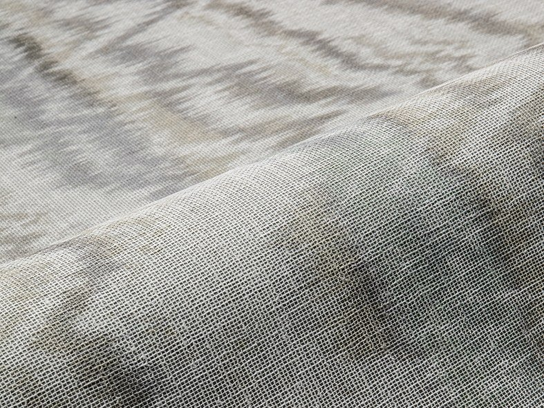 Fabric with graphic pattern for curtains BOREAL WLB by Aldeco