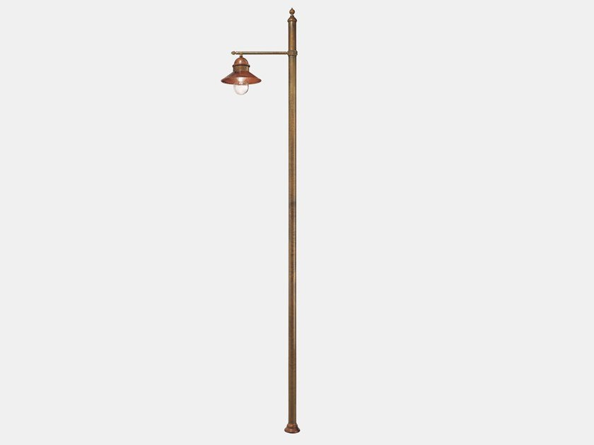 Metal garden lamp post BORGO 304.H3.ORT by Il Fanale