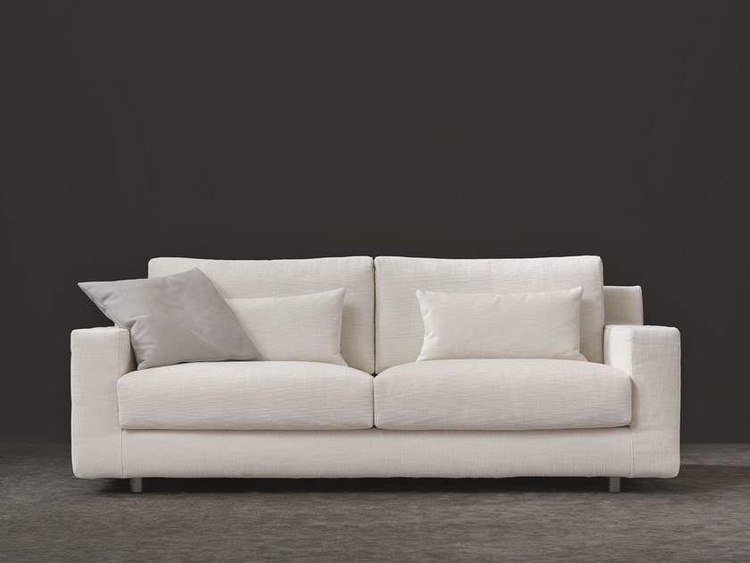 2 seater sofa with removable cover BORGONUOVO | 2 seater sofa by Flou