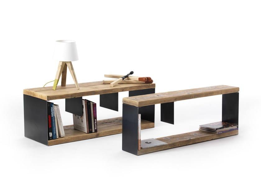Storage iron bench BORIS BENCH by Vontree