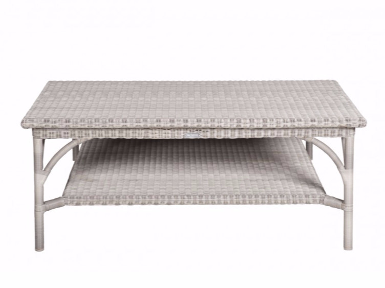 Rectangular garden side table BORNEO | Rectangular coffee table by Tectona