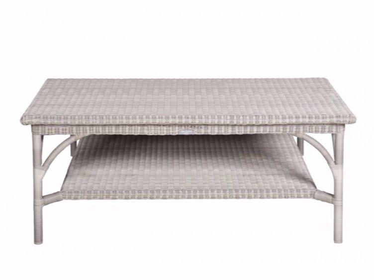 Tavolino da giardino rettangolare BORNEO | Tavolino rettangolare by Tectona