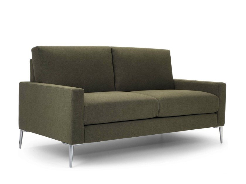 Upholstered 2 Seater Fabric Sofa Boston By Domingo Salotti