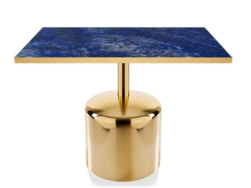 Square iron table BOTERO | Square table by Vela Arredamenti