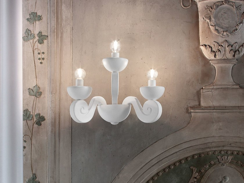 Lampada da parete a LED a luce diretta in poliuretano espanso BOTERO   Lampada da parete by Masiero