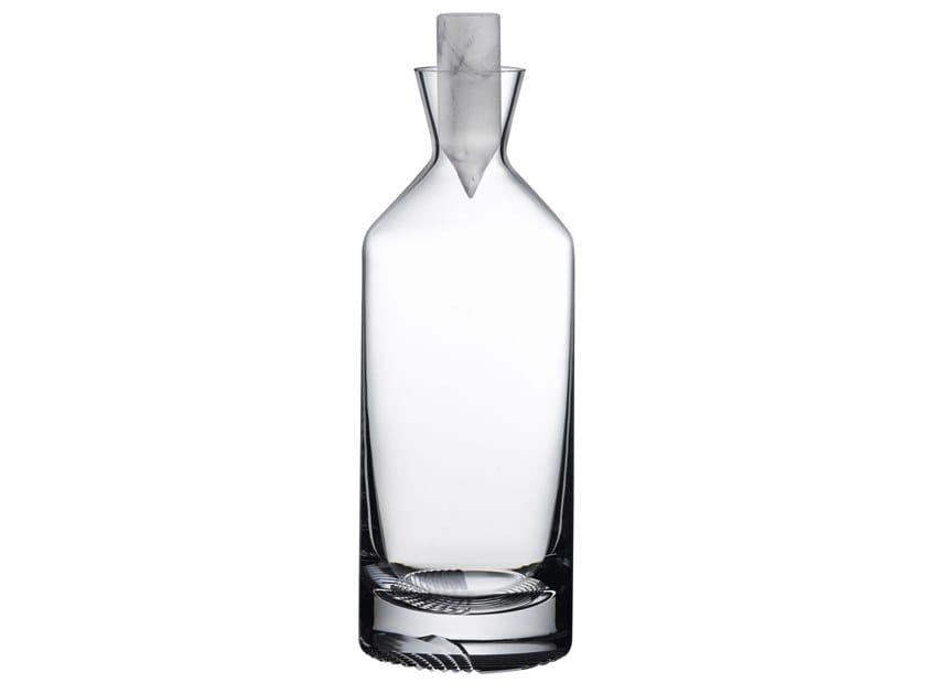 Crystal whisky bottle ALBA | Bottle by NUDE