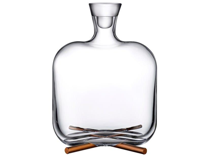 Crystal bottle CAMP | Bottle by NUDE