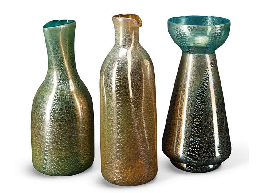 Murano glass bottle BALLET | Bottle by Visionnaire