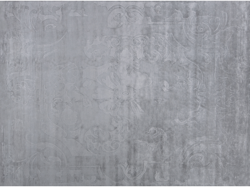 Handmade rectangular rug BOURBON NEW AGE QUARTZ by EDITION BOUGAINVILLE
