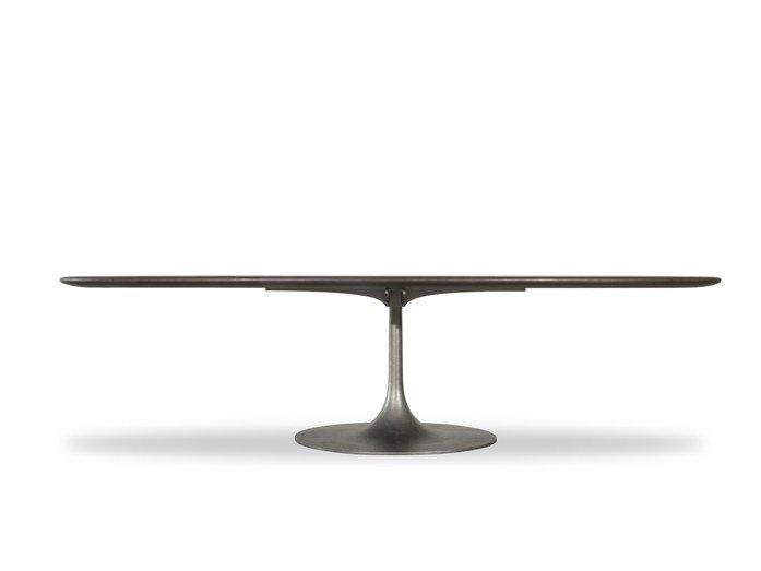 Oval solid wood table BOURGEOIS | Oval table by BAXTER