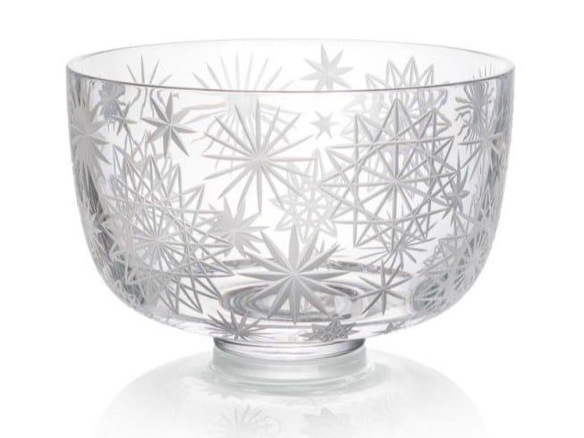 Crystal bowl KRAKATIT   Bowl by Rückl
