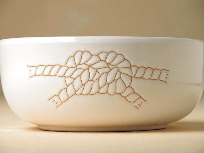 Ceramic bowl I GRAFFITI | Bowl by Cerasarda