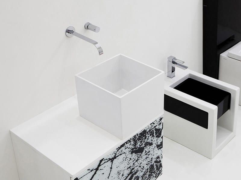 Countertop washbasin BOX 31.5 | Countertop washbasin by GSG Ceramic Design
