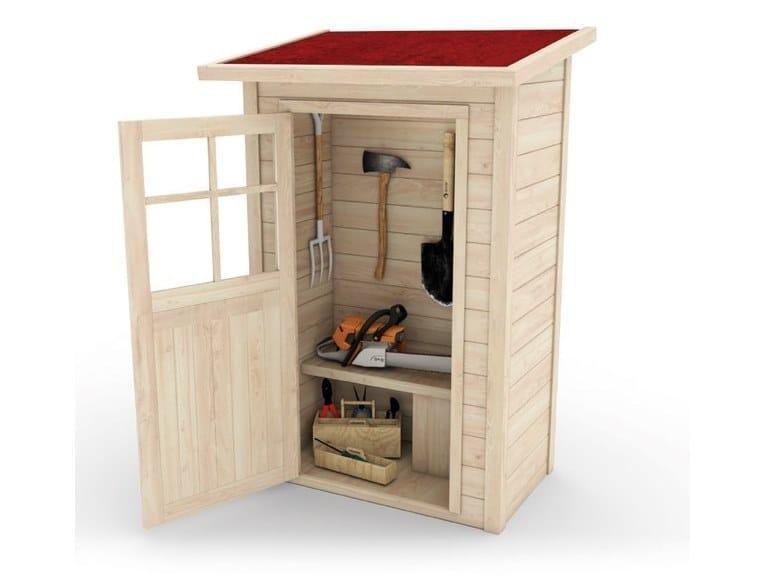 Fir Garden shed BOX ATTREZZI by Zuri Design
