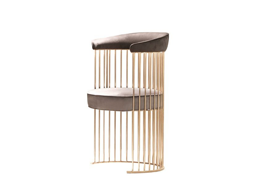 Chair with armrests BRADLEY by ANA ROQUE INTERIORS