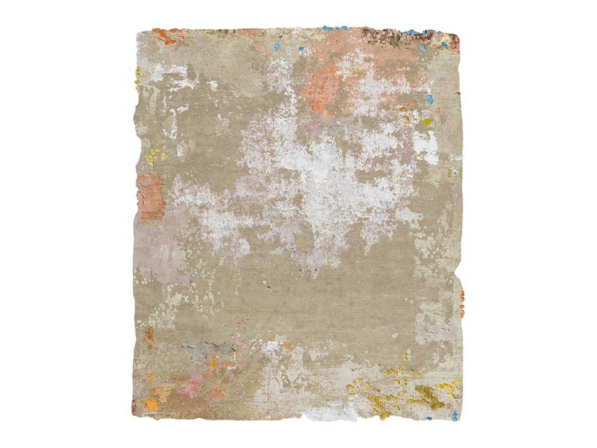 Handmade rug BRAGE DIAMOND DUST by HENZEL STUDIO