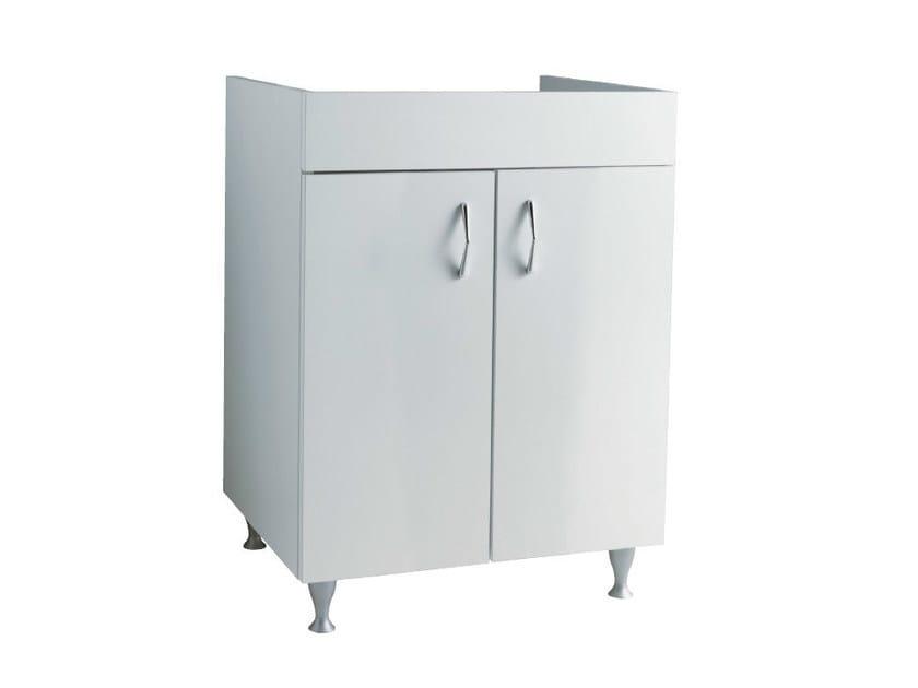 Wooden vanity unit with doors BRAIES   Vanity unit by Alice Ceramica
