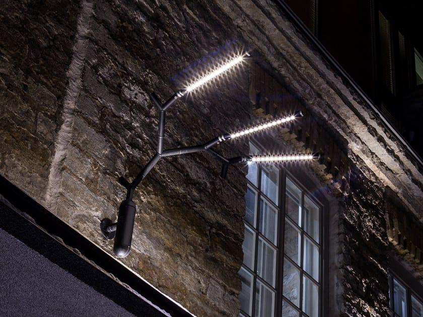 LED adjustable wall lamp TROPHY by Väliala