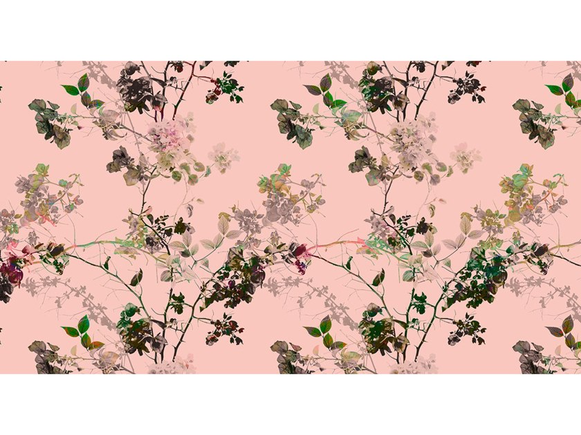 Digital printing wallpaper with floral pattern BRANCHES by Architects Paper