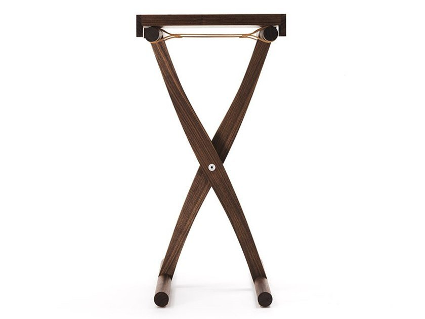 Square solid wood high side table BRANDINO | High side table by ManifestoDesign
