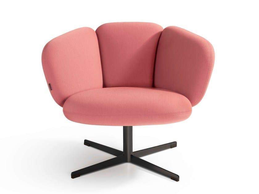 Easy Chair 4-legged swiveling BRAS by Artifort