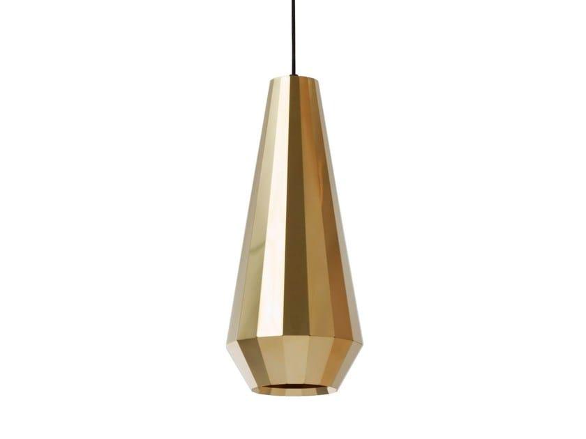 Handmade brass pendant lamp BRASS LIGHT BL 16 by Vij5
