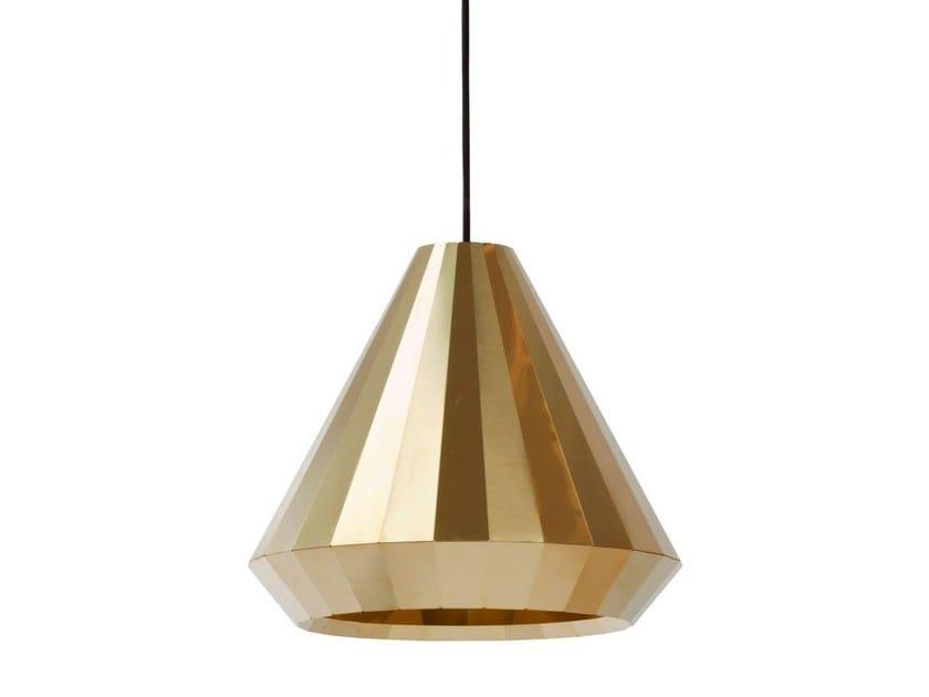 Handmade brass pendant lamp BRASS LIGHT BL 25 by Vij5