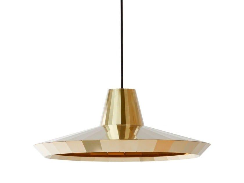 Handmade brass pendant lamp BRASS LIGHT BL 30 by Vij5