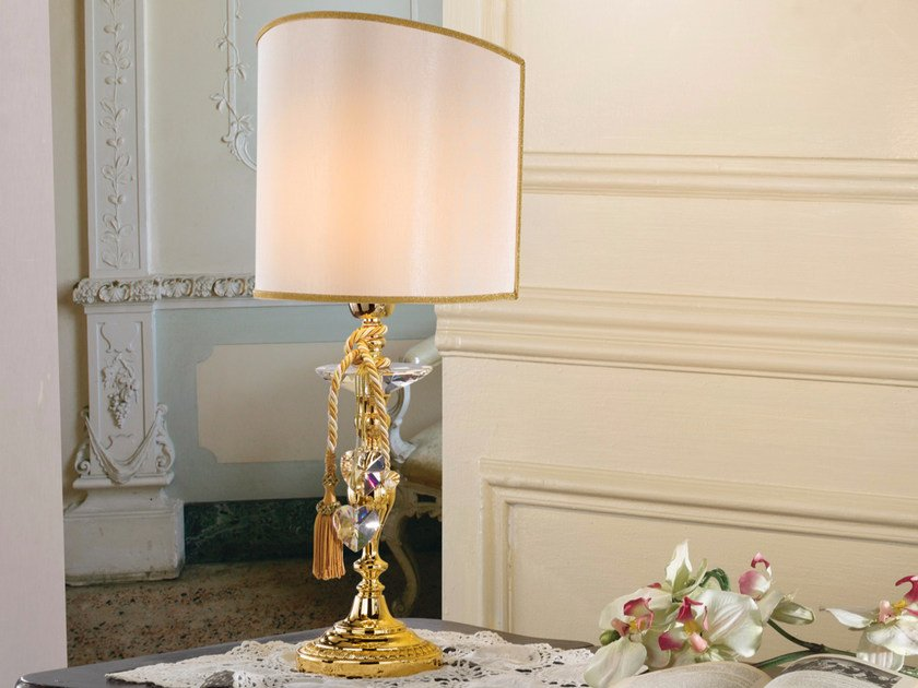 Direct light incandescent brass table lamp BRASS & SPOTS VE 1002 | Table lamp by Masiero