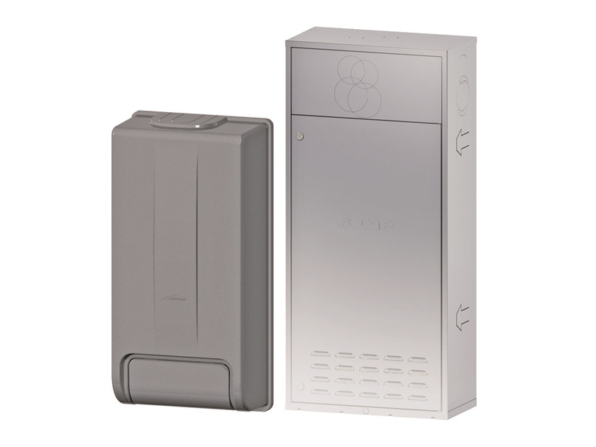 Wall-mounted outdoor condensation boiler BRAVA SLIM/ONE HE ERP by Sime