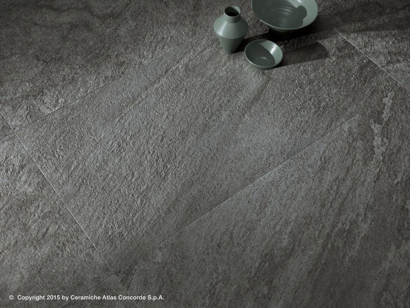Porcelain stoneware flooring with stone effect BRAVE FLOOR | Porcelain stoneware flooring by Atlas Concorde