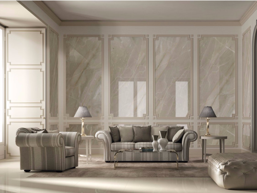 Porcelain stoneware wall/floor tiles BRECCIA BEIGE by GranitiFiandre