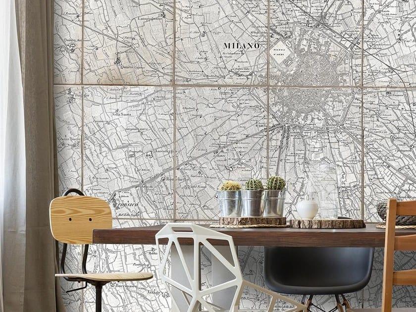 Papel de parede adesivo lavável estável aos raios UV de tecido estilo moderno BRENNA by Wallpepper Group