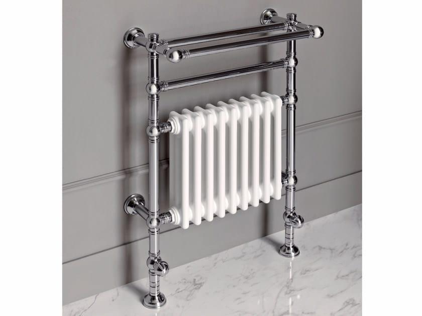 Chrome floor-standing towel warmer BRENT 1 by BATH&BATH