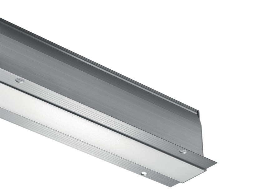 Profilo per illuminazione lineare in alluminio per moduli LED Brenta 1 by L&L Luce&Light