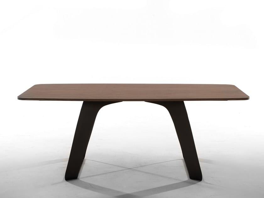Rectangular table BRENTA by Tonin Casa