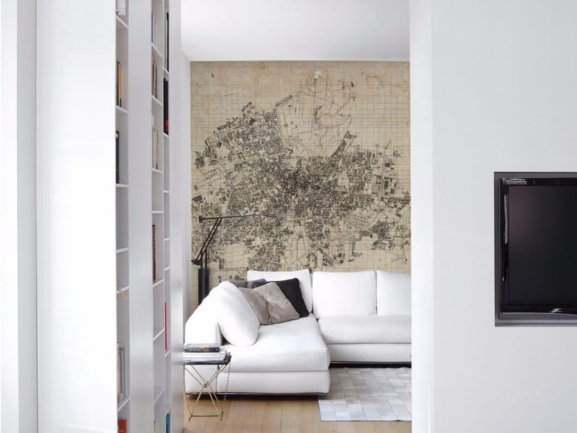 Panoramic wallpaper BRERA by Inkiostro Bianco