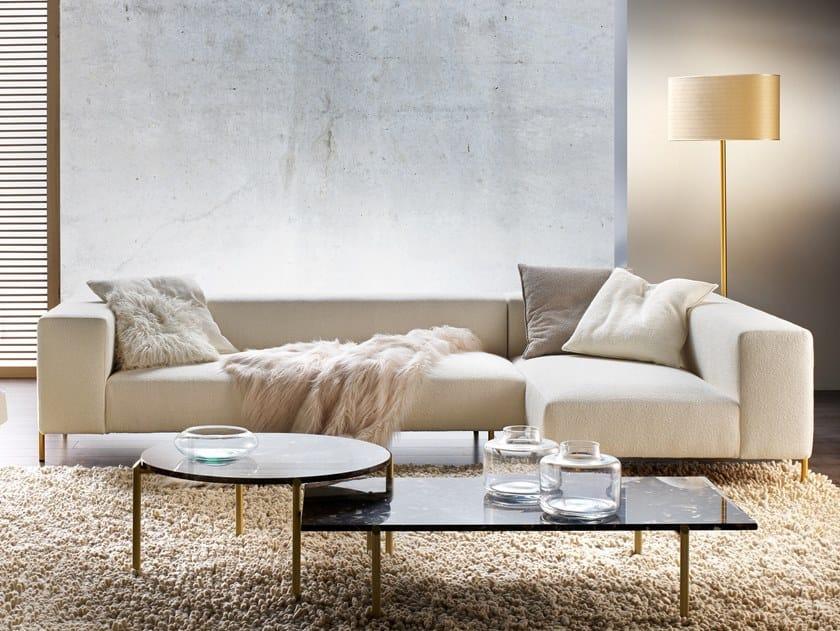 Divano componibile in tessuto con chaise longue BRERA | Divano componibile by Former In Italia