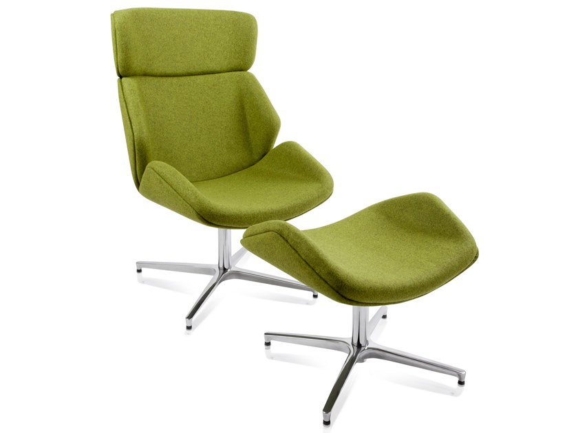 Fabric executive chair with 4-spoke base BRESCIA | Executive chair by AP Factor
