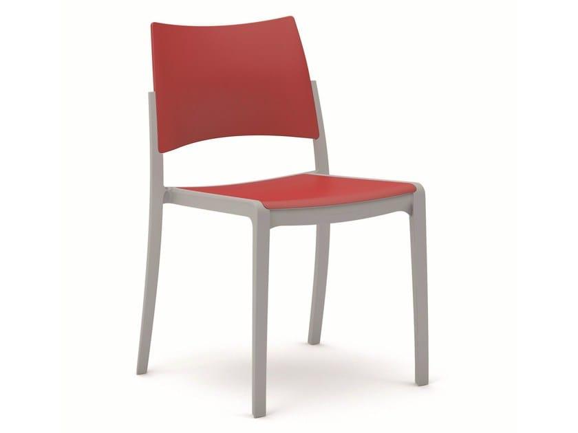 Plastic chair BREZZA   Chair by Vela Arredamenti