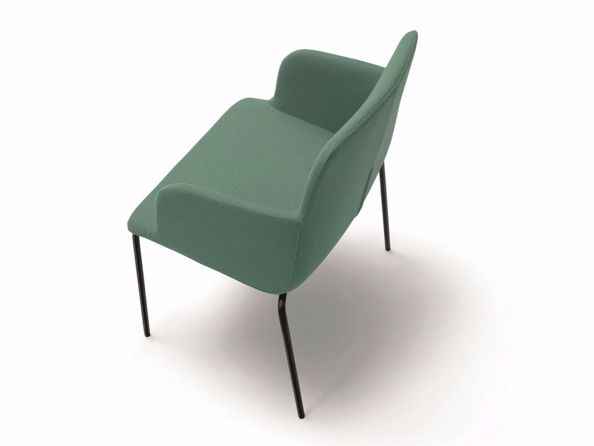 BRIANZA | Chair with armrests