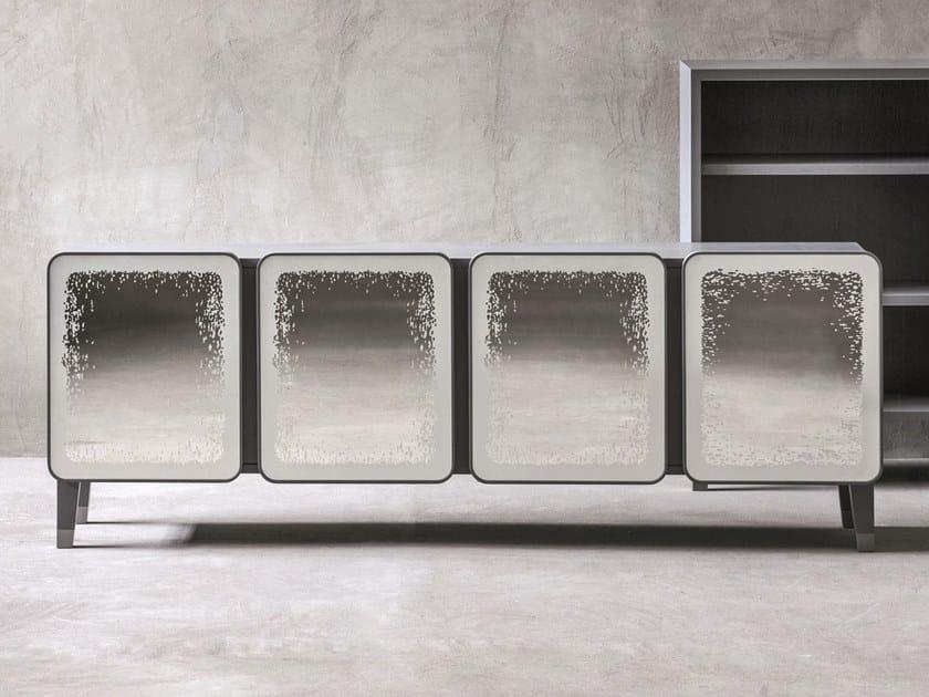 Walnut sideboard with doors BRICK 69 | Walnut sideboard by Gervasoni