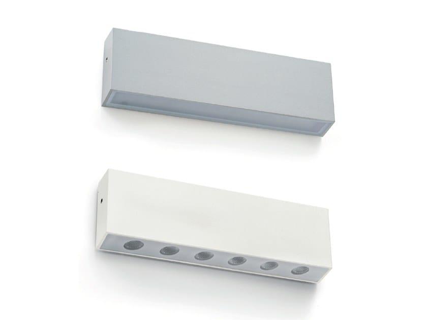 Applique per esterno a LED in alluminio BRICK by Francesconi & C.