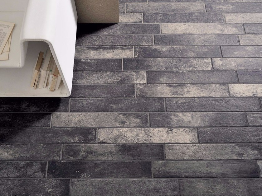 Porcelain stoneware wall/floor tiles with stone effect BRICKLANE