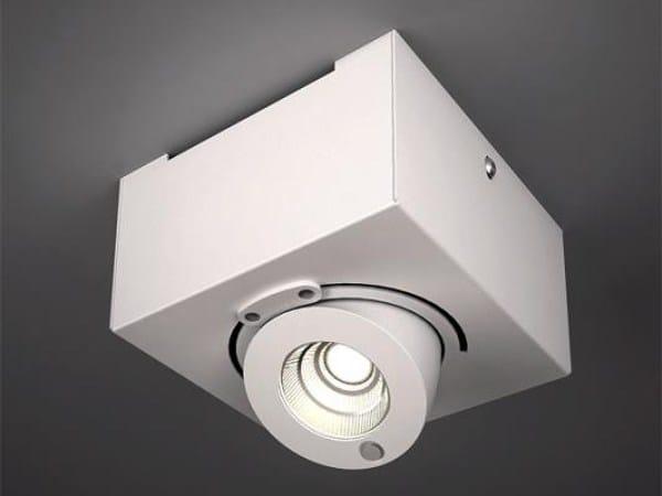 LED adjustable ceiling spotlight BRIDGE 6363 by Milan Iluminacion