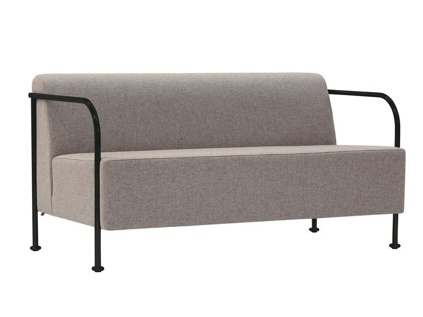 2 seater fabric sofa BRIDGE 817S by Capdell