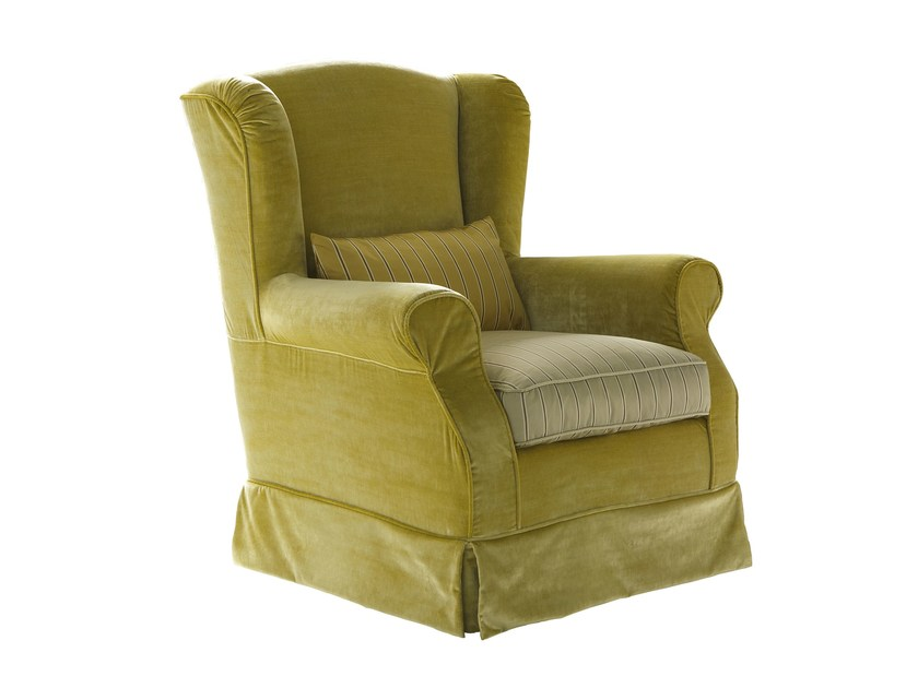Armchair with armrests BRIGITTE by Bolzan Letti