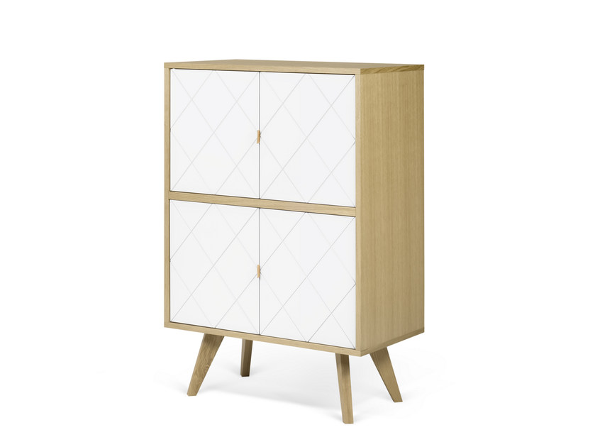 MDF highboard BRIGITTE | Highboard by TemaHome