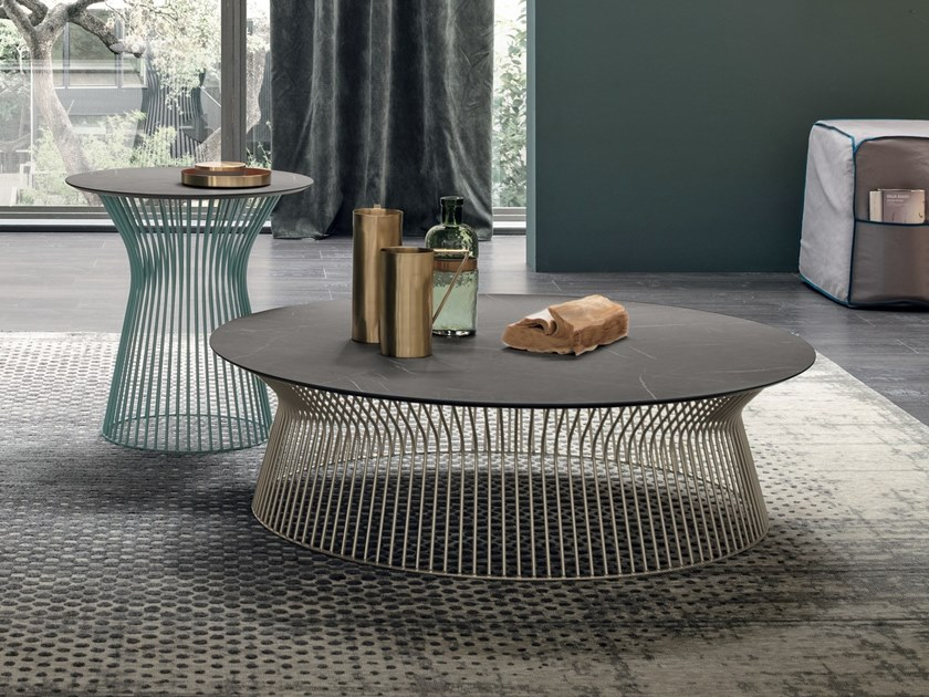 HPL coffee table for living room BRIGITTE | HPL coffee table by Gruppo Tomasella