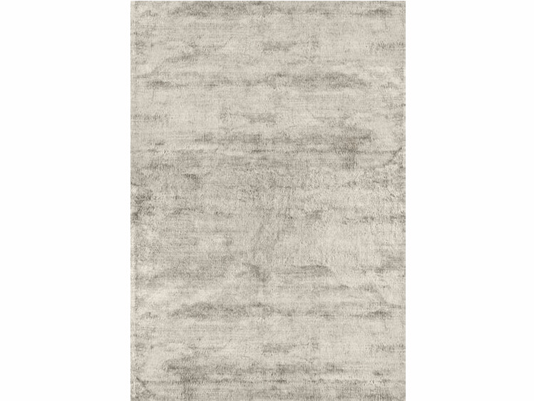 Solid-color rectangular viscose rug BRINA by Sirecom Tappeti